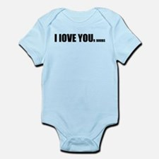 I LOVE YOUr boobs Infant Bodysuit