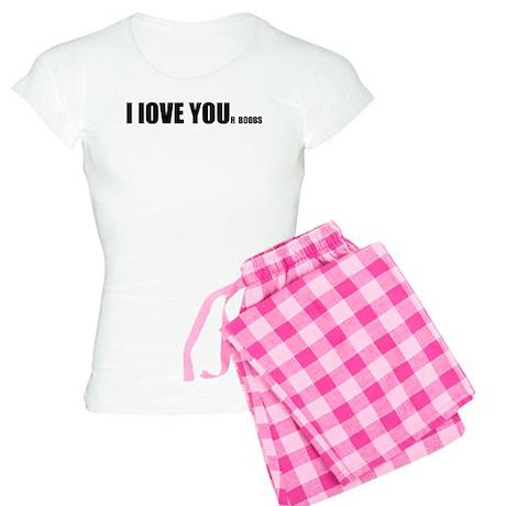 I LOVE YOUr boobs Women's Light Pajamas