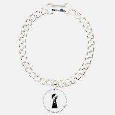 Sexy girl keyhole Bracelet
