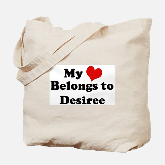 My Heart: Desiree Tote Bag