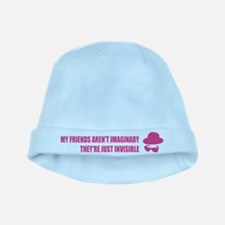 My friends aren't imaginary baby hat