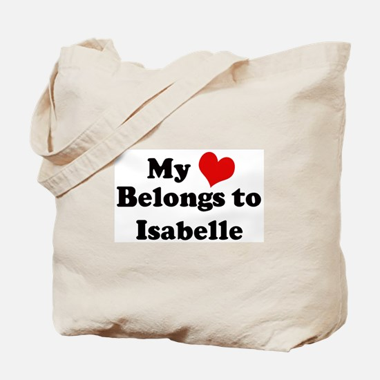 My Heart: Isabelle Tote Bag