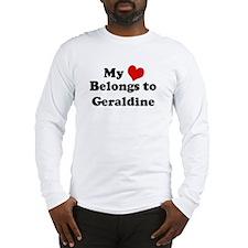 My Heart: Geraldine Long Sleeve T-Shirt