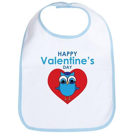Valentine Owl Bib