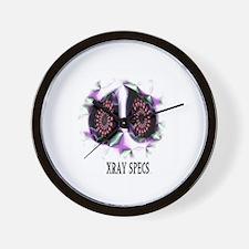 xray specs Wall Clock