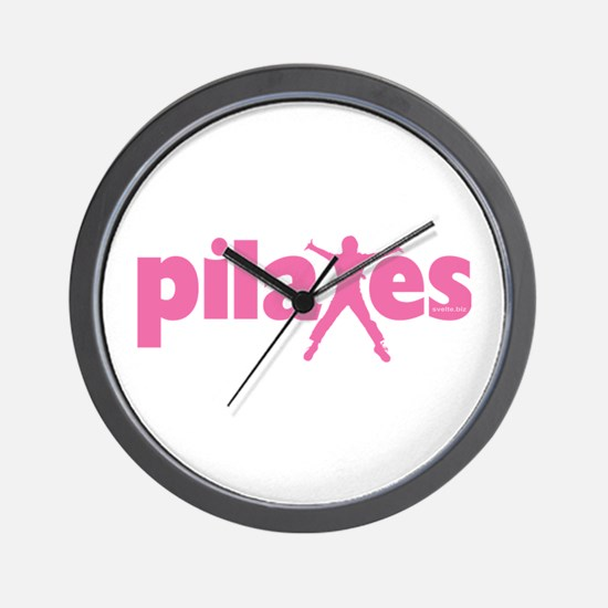 New! Pilates by Svelte.biz Wall Clock