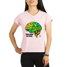 Your Brain on Cache Performance Dry T-Shirt