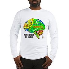 Your Brain on Cache Long Sleeve T-Shirt