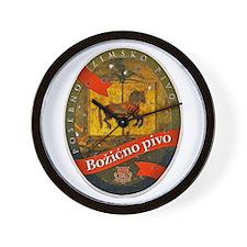 Croatia Beer Label 2 Wall Clock