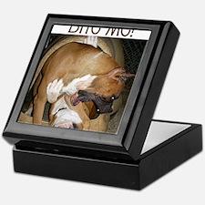 Cool Boxer dog Keepsake Box