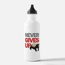 Honey Badger Don't Care Water Bottle