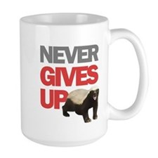 Honey Badger Don't Care Mug
