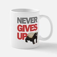 Honey Badger Don't Care Small Small Mug