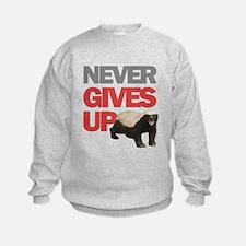 Honey Badger Don't Care Sweatshirt