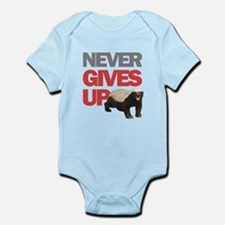 Honey Badger Don't Care Infant Bodysuit