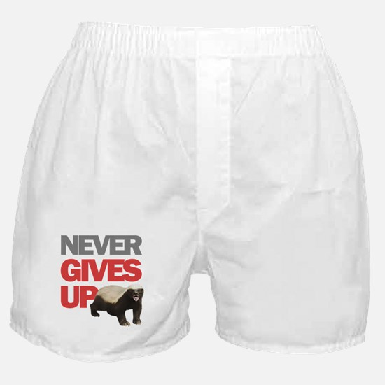 Honey Badger Don't Care Boxer Shorts
