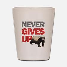 Honey Badger Don't Care Shot Glass