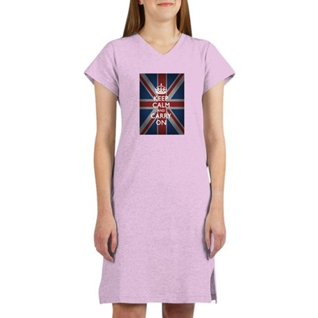 Keep Calm and Carry On Women's Nightshirt