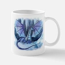 Ice Dragon Fantasy Art by Molly Harrison Mug