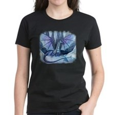 Ice Dragon Fantasy Art by Molly Harrison Tee
