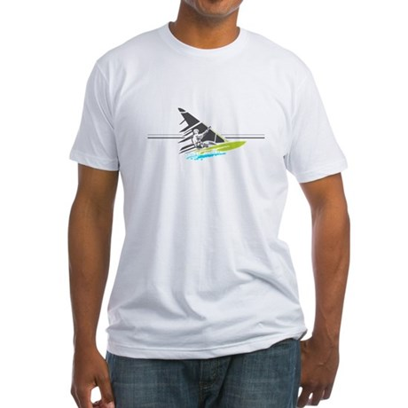 Mens Fitted T-Shirt- Ippo Windsurfing