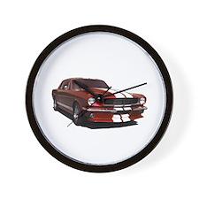 1964 Mustang Wall Clock.