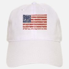13 Colonies US Flag Distresse Baseball Baseball Cap