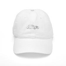 Delage Aerosport Coupe 1937 Baseball Cap