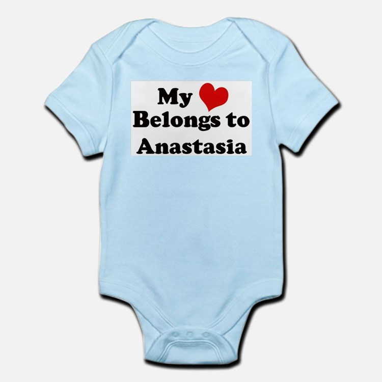 My Heart: Anastasia Infant Creeper