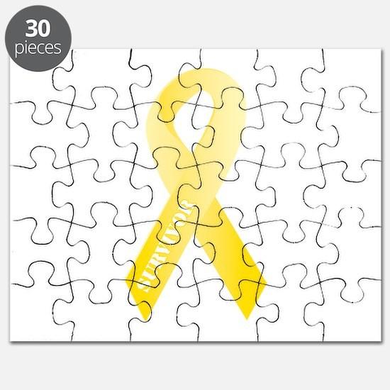Yellow Ribbon Survivor Puzzle