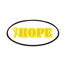 Hope Yellow ribbon Patches