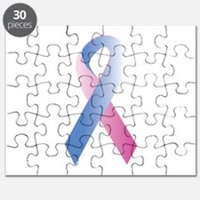 Pink Blue Awareness Puzzle