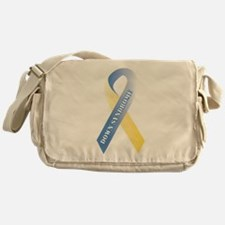 Down Syndrome Awareness Messenger Bag