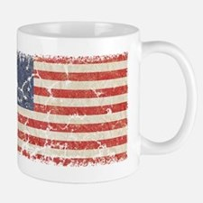 13 Colonies US Flag Distresse Mug