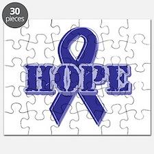 Purple Hope Ribbon Puzzle