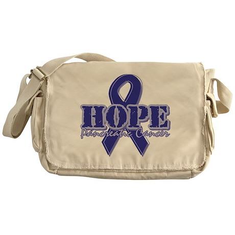 Hope Pancreatic Cancer Messenger Bag