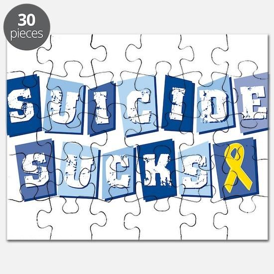 Suicide Sucks Puzzle
