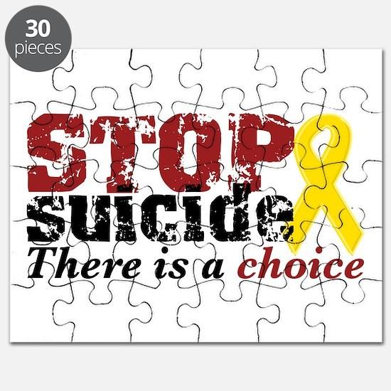 STOP suicide choice Puzzle