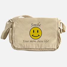 Smile life Messenger Bag