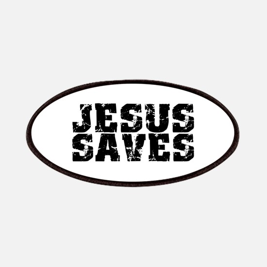 Jesus Saves bk Patches