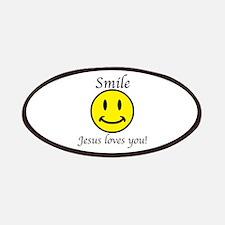 Smile Jesus Patch