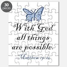 Matthew 19:26 Puzzle
