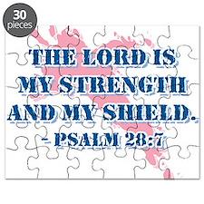 Psalm 28:7 Puzzle