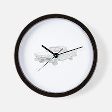 Ford Ranchero 1957 Wall Clock