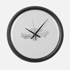 Ford Ranchero 1957 Large Wall Clock