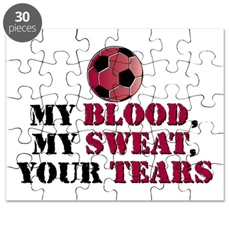 Blood Sweat Soccer Puzzle
