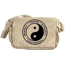 Respect Honor Integrity TKD Messenger Bag
