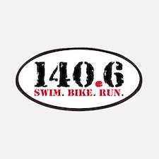 140.6 Swim Bike Run Patch