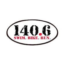 140.6 Swim Bike Run Patches