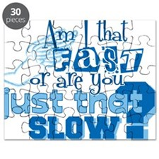 Am I that fast you slow? Puzzle
